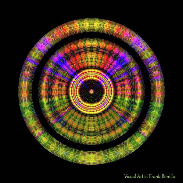 Digital Art - Sunset 2, Series II by Visual Artist Frank Bonilla