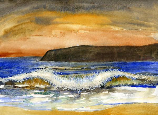 Painting - Sunset #20 Coronado by Brian Meyer