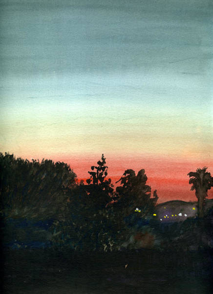 Painting - Sunset #26 Lemon Grove by Brian Meyer