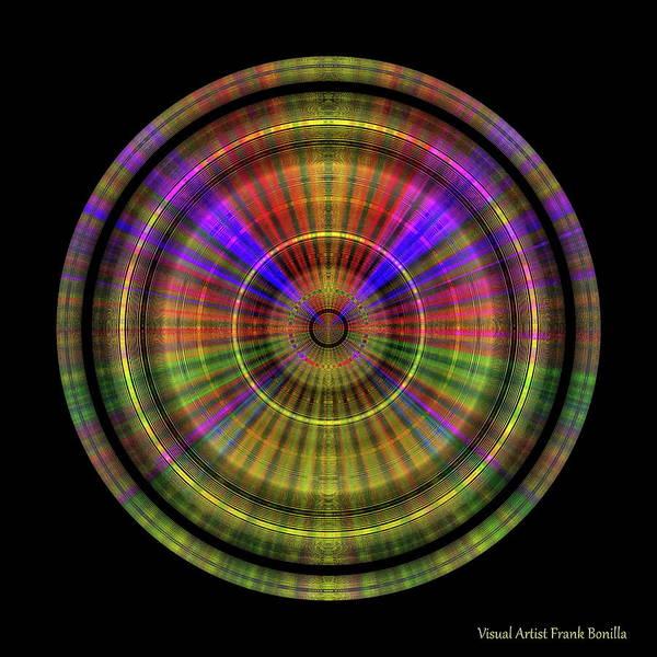 Digital Art - Sunset 4, Series II by Visual Artist Frank Bonilla