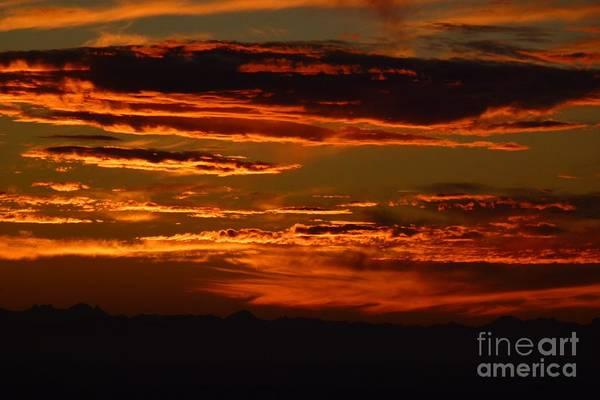 Photograph - Sunset 5 by Jean Bernard Roussilhe