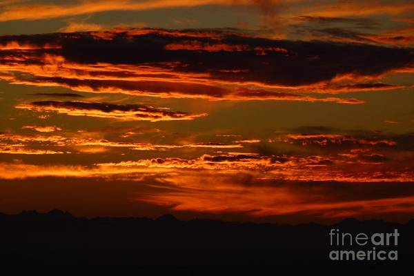 Sunset 5 Art Print