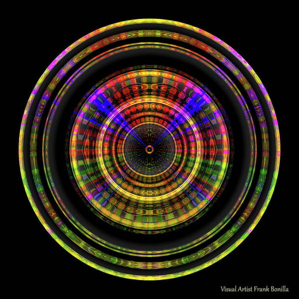 Digital Art - Sunset 5, Series II by Visual Artist Frank Bonilla
