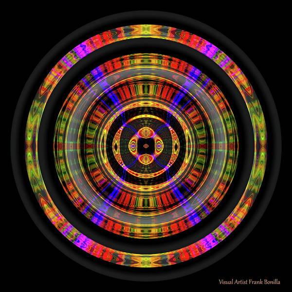 Digital Art - Sunset 8, Series II by Visual Artist Frank Bonilla
