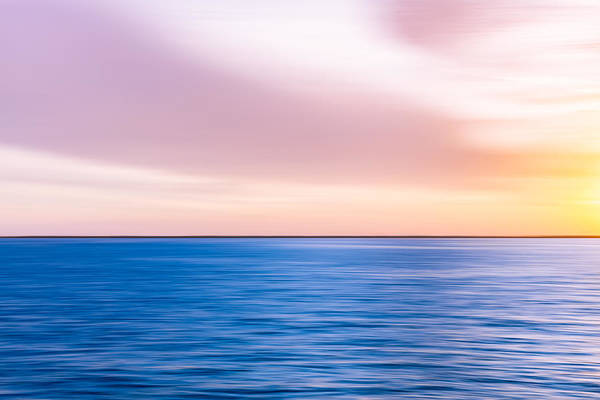 Choctawhatchee Bay Photograph - Sunset Abstract by Janet Fikar