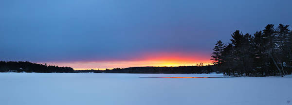 Photograph - Sunset After Snow by John Meader