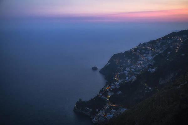 Wall Art - Photograph - sunset Amalfi Coast by Joana Kruse