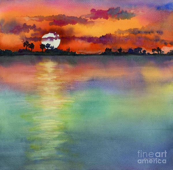 Painting - Sunset by Amy Kirkpatrick