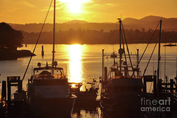 Photograph - Sunset And The Boats by Kirt Tisdale