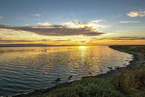 Alviso Photograph - Sunset At Alviso by Sooper Traveler