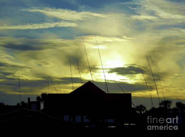 Photograph - Sunset At Amelia Island by D Hackett