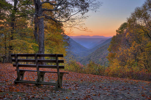 Photograph - Sunset At Babcock by Williams-Cairns Photography LLC