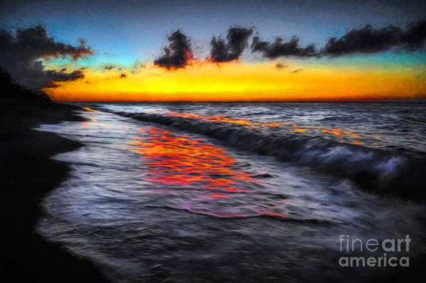 Photograph - Sunset At Boracay by Adrian Evans