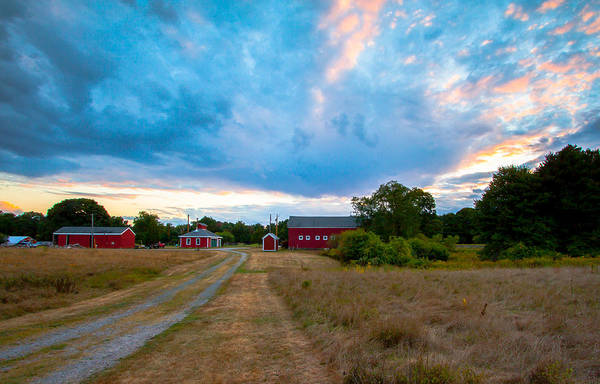 Photograph - Sunset At Brookwood Community Farm by Brian MacLean