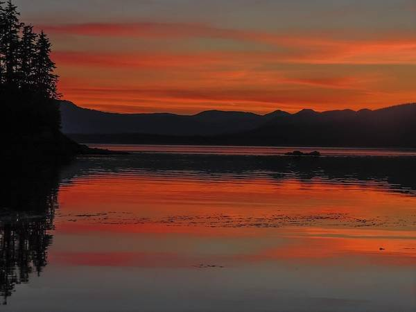 Sunset At Brothers Islands Art Print