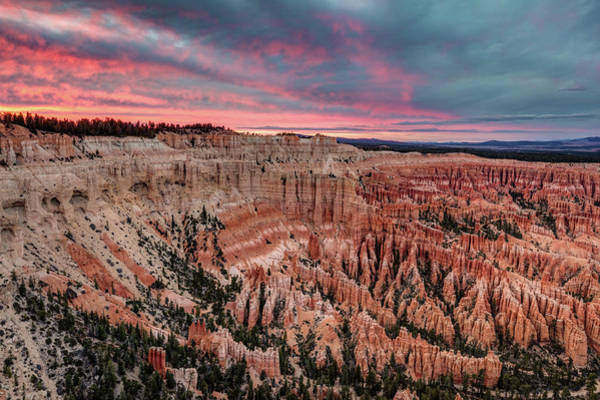 Photograph - Sunset At Bryce Point by Pierre Leclerc Photography