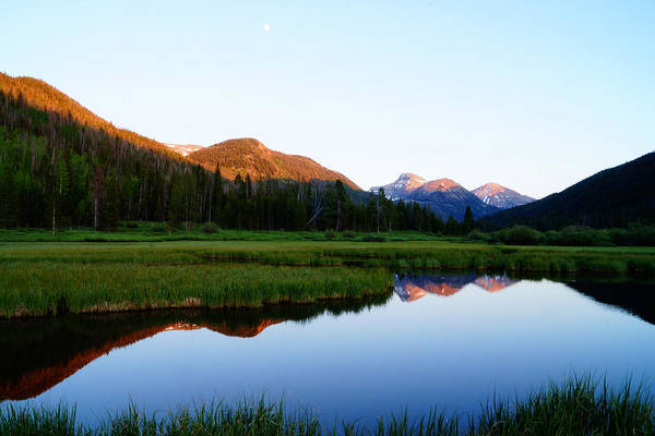 Uinta Photograph - Sunset At Christmas Meadows by James Mikkelsen
