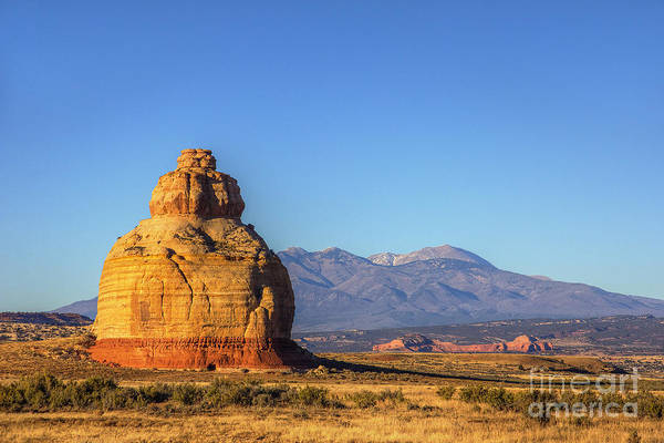 Photograph - Sunset At Church Rock by Spencer Baugh