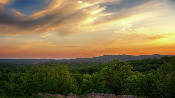 Photograph - Sunset At Cliff View Park by Susan Rissi Tregoning