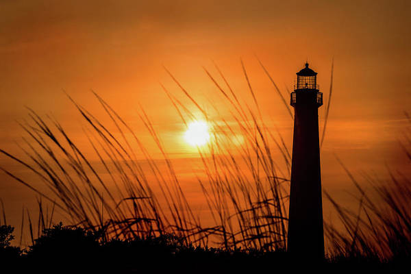 Photograph - Sunset At Cm Lighthouse by Don Johnson