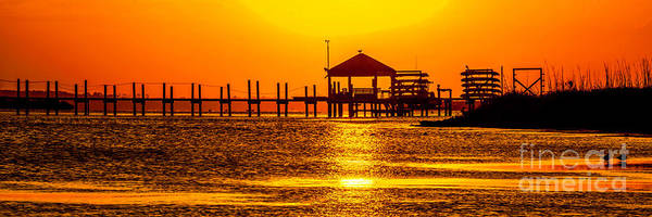 Photograph - Sunset At Corolla by Nick Zelinsky