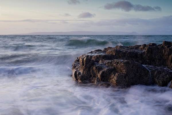 Photograph - Sunset At Dunure by Stephen Taylor