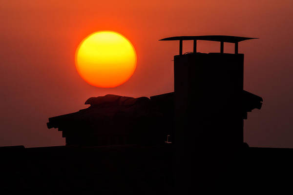 Photograph - Sunset At Easter by Wolfgang Stocker