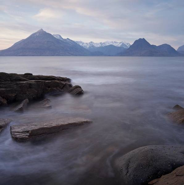 Photograph - Sunset At Elgol Beach by Stephen Taylor