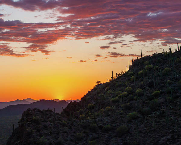 Photograph - Sunset At Gate's Pass by Lon Dittrick