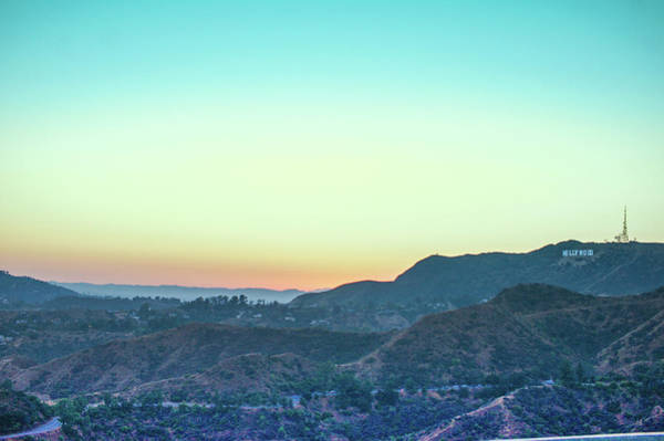 Wall Art - Photograph - Sunset At Griffith Park by Art Spectrum