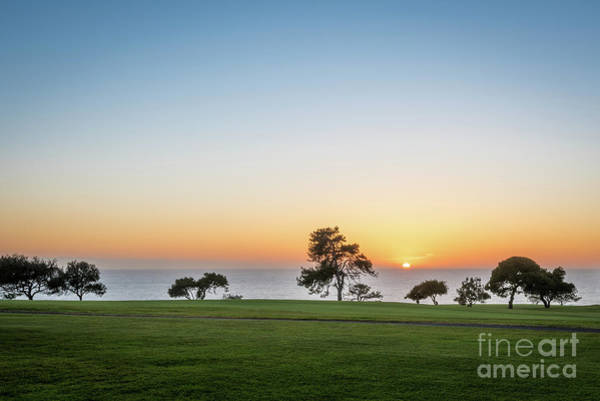 Photograph - Sunset At Hilton La Jolla Torrey Pines Golf Course by David Levin