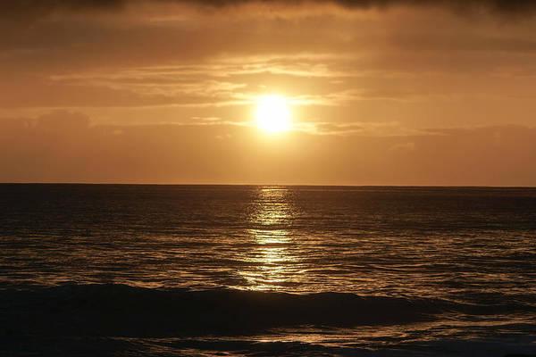 Pray For Love Wall Art - Photograph - Sunset At Kaena Point by Chris and Wally Rivera