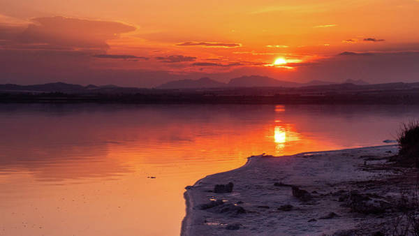 Wall Art - Photograph - Sunset At Laguna Rosa by Mike Walker