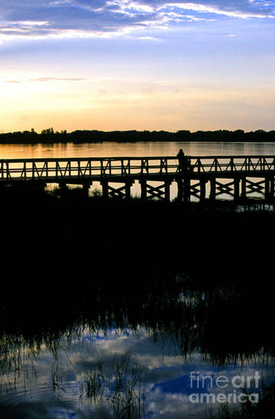 Photograph - Sunset At Lake Mineola In Clermont Florida by William Kuta