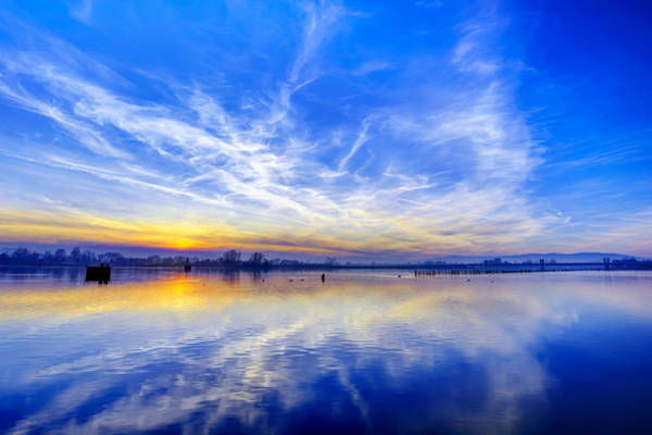 Photograph - Sunset At Lake Ptuj by Ivan Slosar