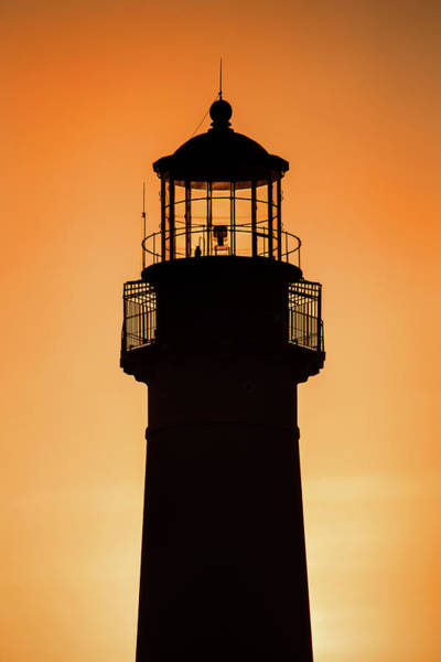 Photograph - Sunset At Lighthouse by Don Johnson