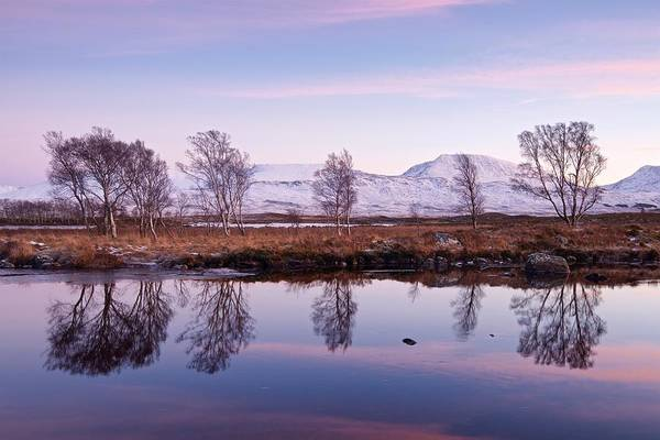Photograph - Sunset At Loch Ba by Stephen Taylor