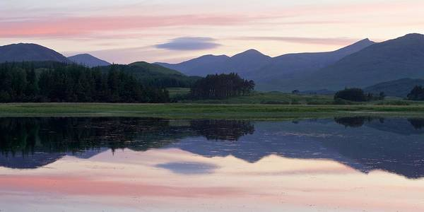 Photograph - Sunset At Loch Tulla by Stephen Taylor