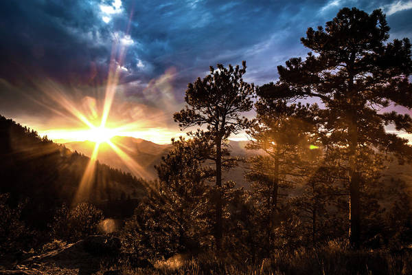 Photograph - Sunset At Lookout Mountain by Jeanette Fellows