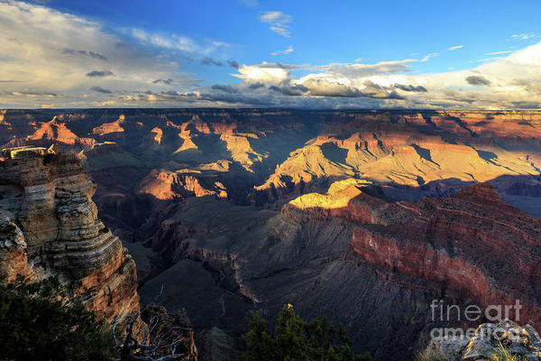 Photograph - Sunset At Mather's Point by Franz Zarda
