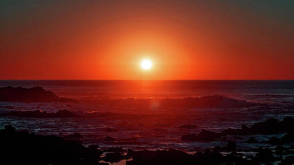 Photograph - Sunset At Monterey by Eric Wiles