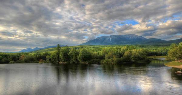Maine Photograph - Sunset At Mt. Katahdin by Lori Deiter