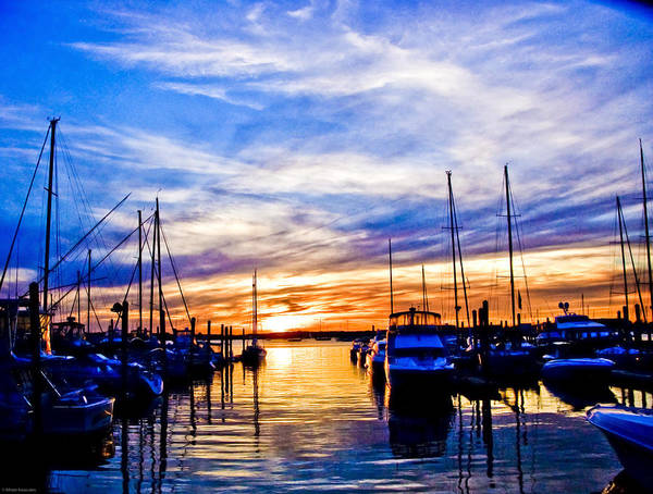 Wall Art - Photograph - Sunset At Newport by Ches Black