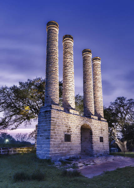 Wall Art - Photograph - Sunset At Old Baylor Park by Stephen Stookey