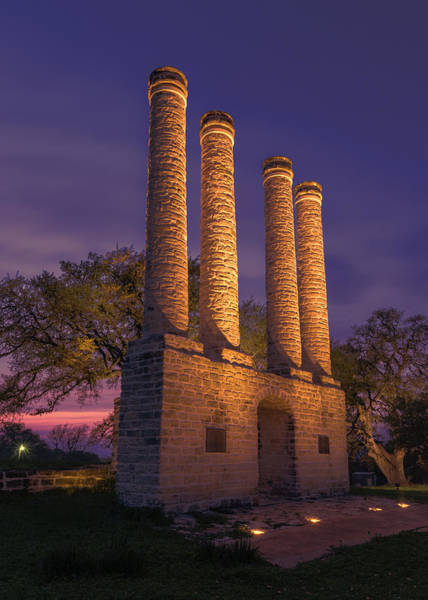 Wall Art - Photograph - Sunset At Old Baylor by Stephen Stookey