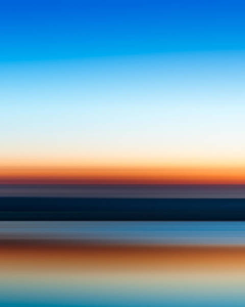 Clear Water Photograph - Sunset At Ottawa Lake by Scott Norris