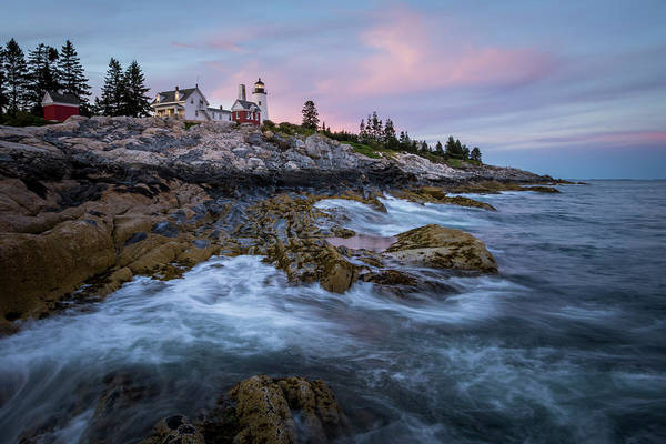 Photograph - Sunset At Pemaquid by Colin Chase