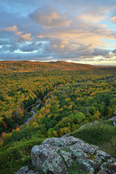 Photograph - Sunset At Porcupine Mountains II by Ray Mathis