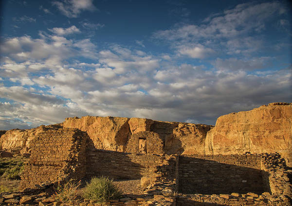 Chaco Canyon Wall Art - Photograph - Sunset At Pueblo Bonito by Kunal Mehra
