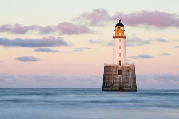Photograph - Sunset At Rattray Head Lighthouse by Stephen Taylor